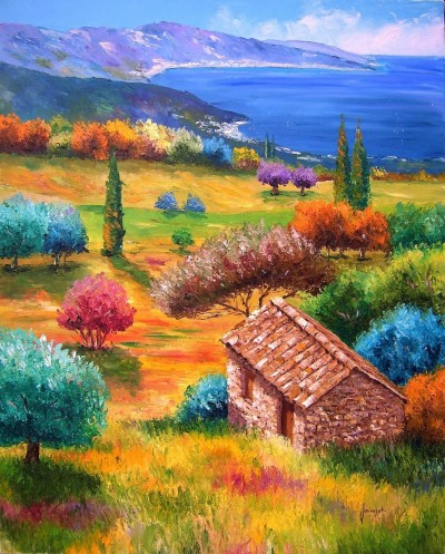 High-quality-Oil-painting-Canvas-Reproductions-Mediterranean-By-Jean-Marc-Janiaczyk-hand-painted.md.jpg