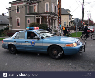seattle-police-department-car-at-an-anti-police-demonstration-in-capitol-D510JP.jpg