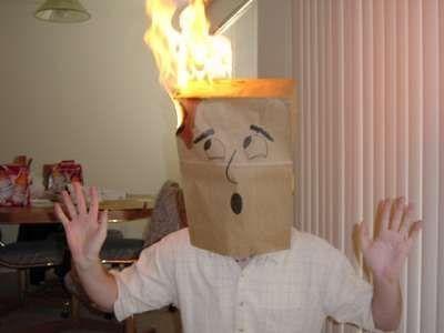 head on fire